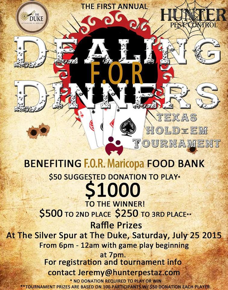 Dealing For Dollars Fundraiser